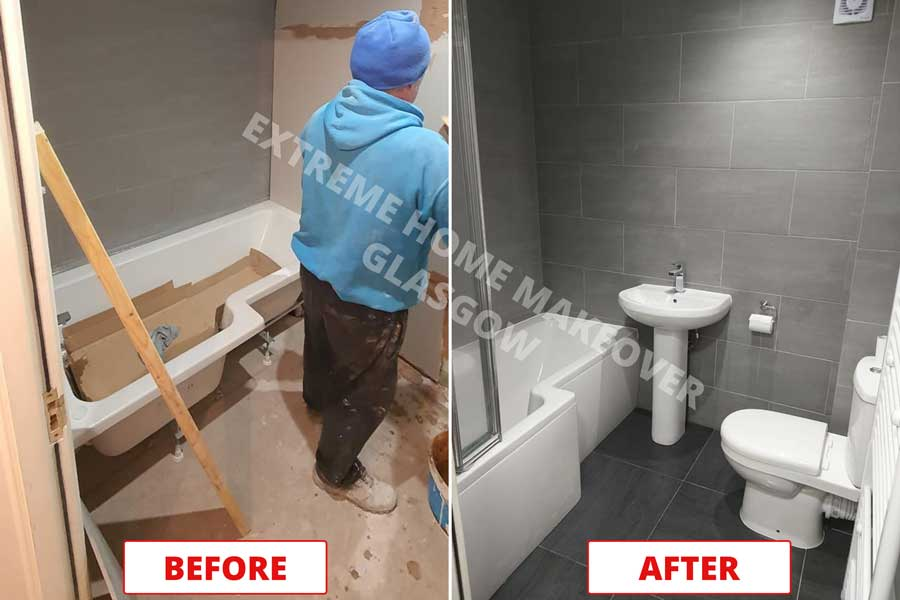 BATHROOM RENOVATIONS IN GLASGOW CONSTRUCTION COMPANY